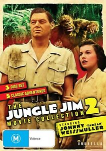 The Jungle Jim Movie Collection 2 (DVD) NEW/SEALED [All Regions]