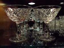 Waterford Irish Crystal Kinsale Champagne Sherbet Glasses (5) Original Ireland