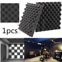 1/6/12/24Pcs Auto Acoustic Foam Egg Panels Studio Soundproofing Absorption