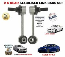FOR LEXUS IS200D IS220D IS250C IS250 ISF 2005-> 2 X REAR STABILISER LINK BAR SET