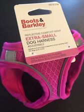 New listing Nwt! Boots & Barkley Xs Pink Dog Harness Reflective & Adjustable to 10lbs