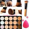 Pro Concealer Palette Makeup Set With Brush Sponge Face Contour Cream 15Colors