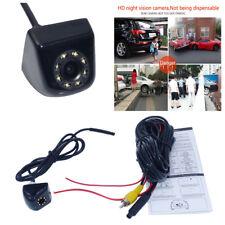 Car Backup Camera Reverse Camera Front/Rear View Cameras 8 LED Light Waterproof
