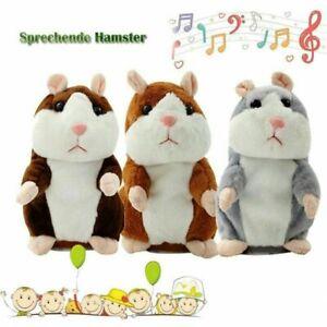 Kinder Sprechende Hamster Kuscheltier Plüschtier Spielzeug Talking Toy Maus Fun