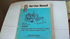 International Harvester C Loader 100 125 Amp C Crawler Tractors Td7 Td8 Manual