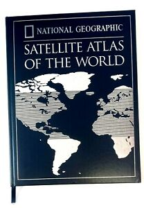 National Geographic Satellite Atlas Of The World. 1998 Hardcover