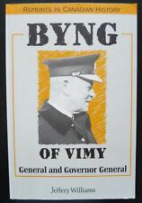 Byng Of Vimy Ridge WW1 Governor General Canada Jeffery Williams London Police SC