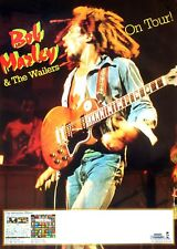 BOB MARLEY AND THE WAILERS 1980 German CONCERT POSTER Uprising Tour REGGAE