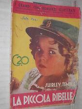 LA PICCOLA RIBELLE Shirley Temple Taurinia 1936 foto fox cineromanzi illustrati