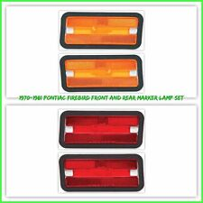 OER 1970-1981 Pontiac Firebird Front and Rear Marker Lamp Set with Gaskets