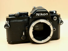 Vintage NIKON FM 35mm film SLR camera body only