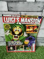 Luigi's Mansion Solutions Magazine Unofficial Nintendo Game Cube Guide Cheat