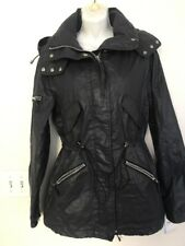 SAM. NEW YORK Black Removable Hood Jacket Size M