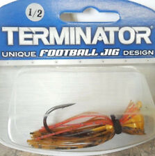 Terminator Football Jig 1/2oz – PBJ Bass Golden Perch Lure