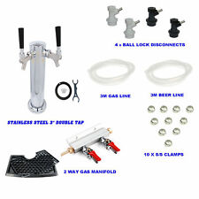 Beer Tap font Hose Draft Beer System for 2 way Ball Lock Cornelious Keg