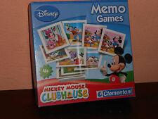 DISNEY MEMORY GAME-40 COPPIE- GIOCO DA TAVOLO-VIAGGIO-,TASSELLI CM 6X6
