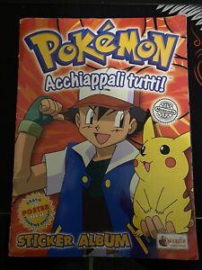 Album Originale Vintage Pokemon!!!! Completo!!!