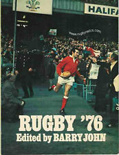 RUGBY '76 CARWYN JAMES BRITISH LIONS 1971 PERSONAL EDITION JOHN DAWES ARTICLE
