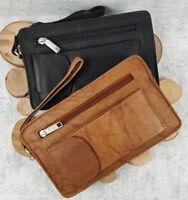 Men's Bag Wrist Bag Business Bag Handbag for Men Clutch Leather
