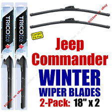 WINTER Wipers 2-Pack Premium Grade - fit 2006-2010 Jeep Commander - 35180x2
