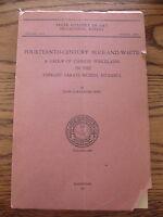 1st ed 14th c Fourteenth Century Blue & White Chinese Porcelains Pope 1952 Freer