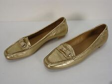 THE ORIGINAL CAR SHOE by PRADA LEATHER LOAFERS DRIVING SHOES WOMEN'S 36.5 MINT