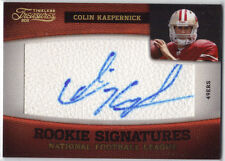 COLIN KAEPERNICK  2011 Panini Timeless Treasures Rookie Signature Ser.#06/10