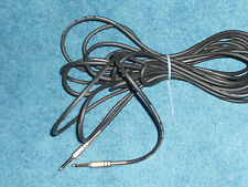 Professional low noise instrument cable 6 meter .
