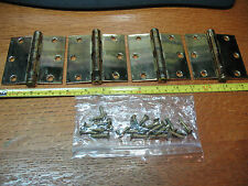 STANLEY No 179  HINGES (4) ORIGINAL  COMPLETE  USA    SUPER !!!