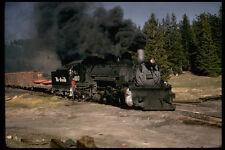 391071 sa Denver RIO GRANDE 2 8 2 scartamento ridotto 493 CON TRENO 1973 A4 PHOTO PRI