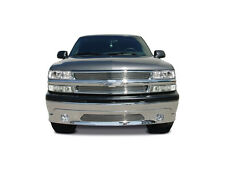 1999-2002 Chevy Silverado Chrome Steel Lower Valance With Fog & Billet chevrolet