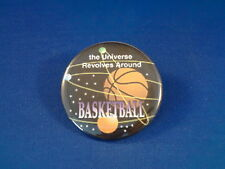 The Universe Revolves Around Basketball Lot of 12 Buttons pins pinbacks badge