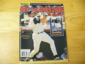 Beckett Baseball Card Monthly Magazine - May 2001 (Troy Glaus) - EXCELLENT