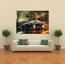 Nissan GTR Car Giant Wall Art Poster Print