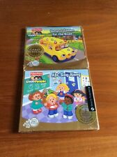 Two New Fisher Price Little People CD's - ABC Singalong & Games For The Road