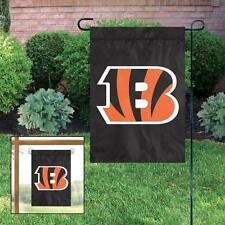 Cincinnati Bengals Applique and Embroidered Mini Garden/Window Flag