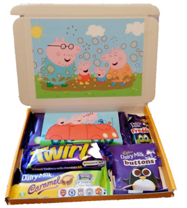 Disney Peppa Pig Cadbury Chocolate Selection Box Personalised, Stocking Filler