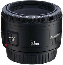 New Canon EF 50mm f/1.8 II Lens Autofocus Prime lens - T7 T6 90D 7D - Not STM