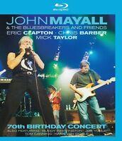 THE 70TH BIRTHDAY CONCERT - J. MAYALL & BLUESBREAKERS EAGLE VISION  BLU-RAY NEU