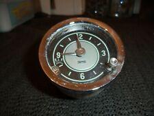 Smiths Time Clock Gauge Dash Vintage Classic Car 12 volt