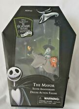 The Mayor Nightmare Before Christmas Silver Anniversary Action Figure - READ -