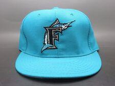 VTG 90's New Era 59/50 MLB Florida Marlins Fitted On Field Hat Cap sz 6 5/8