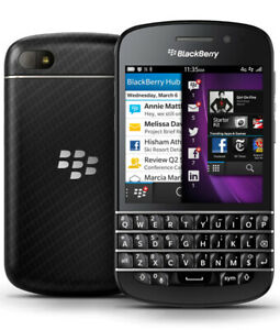 Boxed Sealed Blackberry Q10 16GB (Black) - Unlocked
