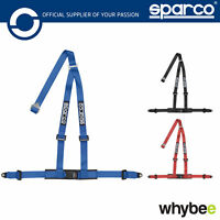 04608BV1 Sparco 04608 BV1 3-Point Harness Performance Belts ECE in 4 Colours