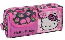 Trousse Hello Kitty qualité supérieure avec 3 compartiments trousse école