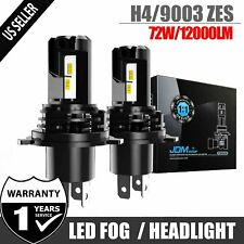 JDM ASTAR Hi-Lo H4 HB2 9003 High Power LED Headlight Bulbs 60W 8000LM 6500K Lamp