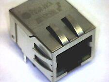 RJ45 1x1 Tab-DOWN PULSE Jack with LEDs J0011D21BNL 100 Base-TX (Fast Ethernet)