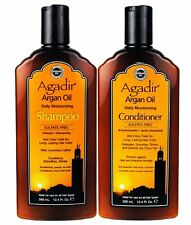 AGADIR MOROCCAN ARGAN OIL DAILY MOISTURIZING SHAMPOO & CONDITIONER 355ml DUO