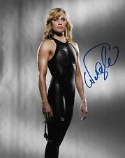 NATALIE COUGHLIN Signed Autographed 8x10 Photo Team USA Olympic Swimmer Gold
