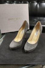 Jimmy Choo Suede Platform Pumps Heels Shoes..Size 38.5 (8.5)..AUTH..Mint..$760+!